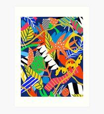 Dschungel Kunstdruck