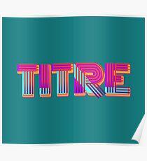 TITRE ! Poster