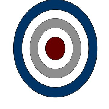 BULLSEYE POP ART GRAPHIC by ItsNextYear