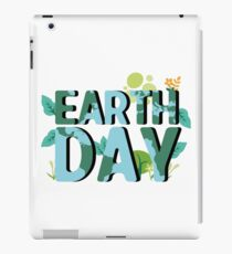 Earth Day Natural Elements  iPad Case/Skin