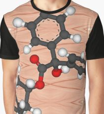 3-Quinuclidinyl benzilate (QNB), 1-azabicyclo[2.2.2]octan-3-yl hydroxy(diphenyl)acetate, EA-2277,  BZ, Substance 78, odorless military incapacitating agent Graphic T-Shirt