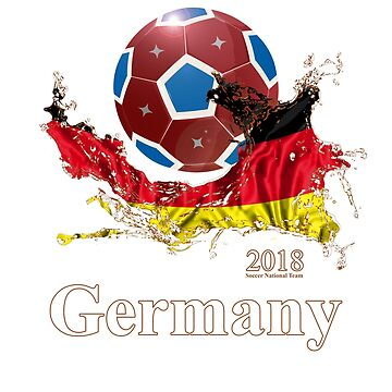 Germany Soccer Team 2018 Russia Football Fan T-Shirt by Good-Hombre