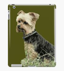Dog | Portrait fo Guinness | Yorkie | Pets | Dogs iPad Case/Skin
