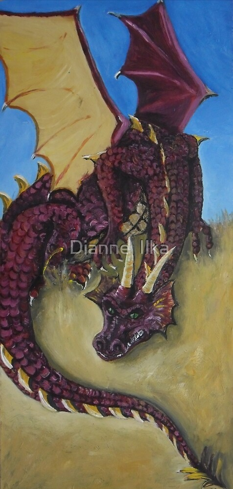 Red Dragon by Dianne  Ilka