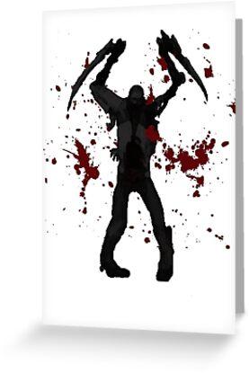DeadSpace Necromorph [Bloody Slasher] by Jonathan Masvidal