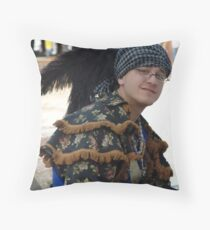 Creek Storyteller Throw Pillow