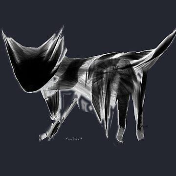 Night Cat by mindprintz