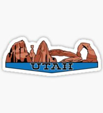 The Mighty Five - Utah Sticker