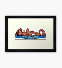 The Mighty Five - Utah Framed Print
