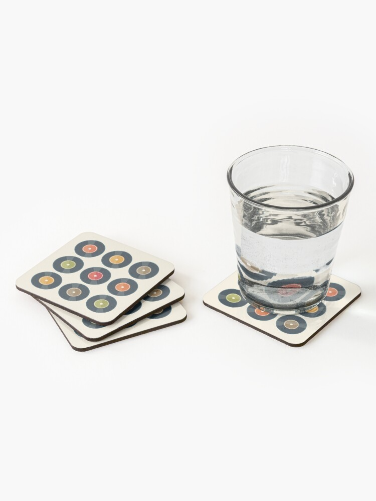 Alternate view of Vinyl Record Collection Coasters (Set of 4)
