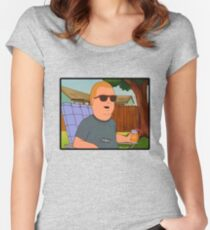 Bobby Hill Hey Women's Fitted Scoop T-Shirt