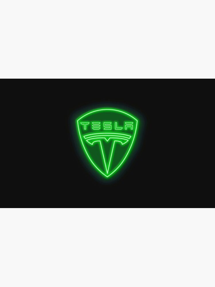 Tesla Neon Sign by RickyBarnard