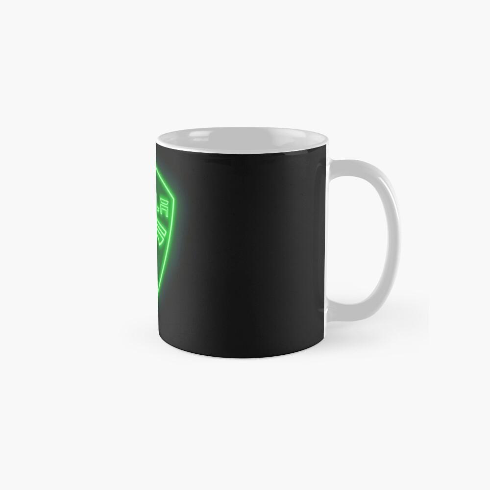 Tesla Neon Sign Mugs