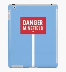 Danger Minefield! iPad Case/Skin
