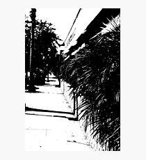 """Sidewalk"" Photographic Print"