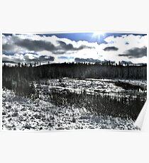Landscape Snow Poster