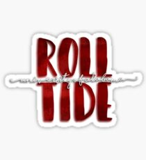 Pegatina Roll Tide