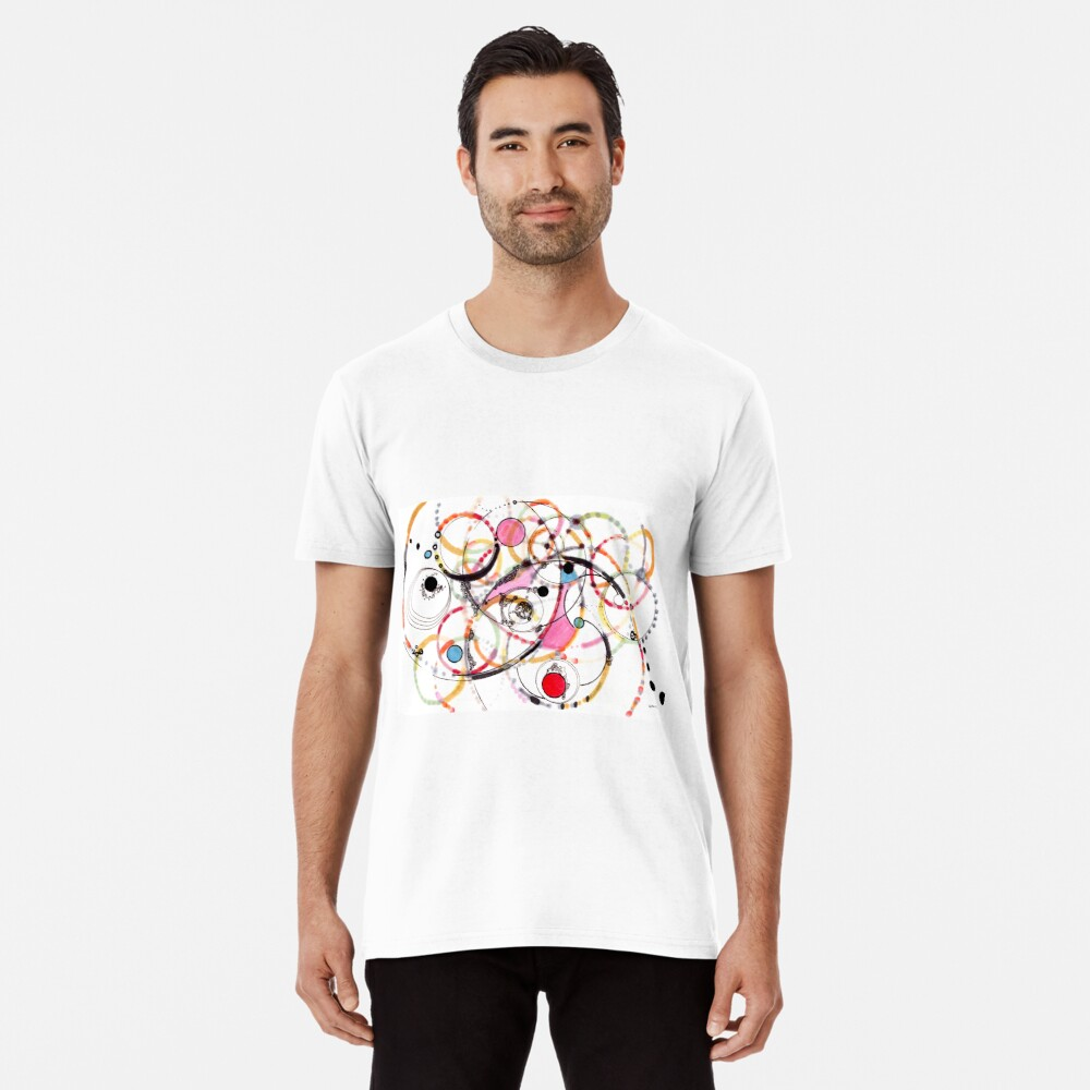 Spheres of Influence - ink on paper Premium T-Shirt