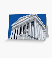 Supreme Court in Washington DC Greeting Card