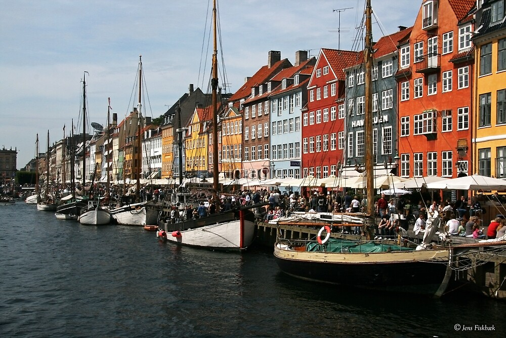 Nyhavn in Copenhagen. by imagic