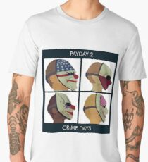 PAYDAY 2 DEMON DAYS Men's Premium T-Shirt