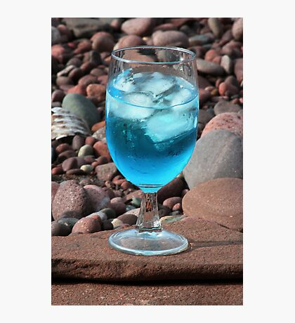 Martini On The Rocks Photographic Print