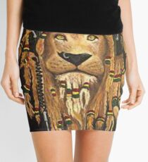 Rasta lion Mini Skirt