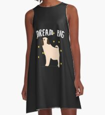 Pretty Pug A-Line Dress