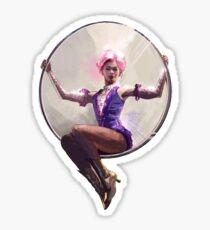 "Anne Wheeler ""Costume Drawing"" Sticker"