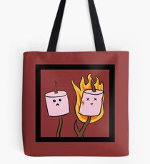 The plight of the marshmallow Tote Bag