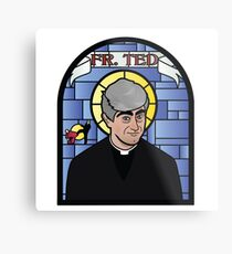 Father Ted Metal Print