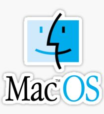 Mac OS Sticker