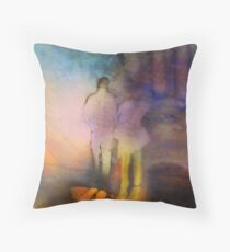 A Walk With Perception Throw Pillow