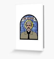 Father Ted  Greeting Card