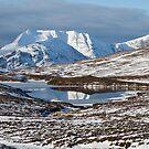 Ben More Coigach and Clar Loch Mor by derekbeattie