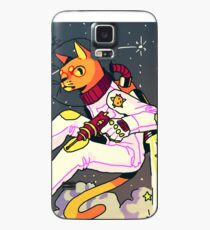 Space Cat Print Case/Skin for Samsung Galaxy