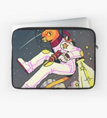 Space Cat Print Laptop Sleeve