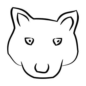 Wolf lines design by Er1k99