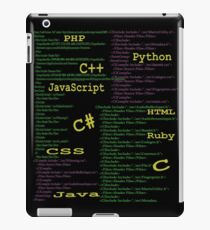 Programming languages iPad Case/Skin