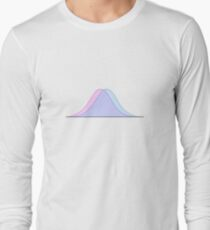 The bell curve Long Sleeve T-Shirt