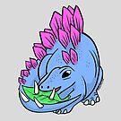 Cutiesaurs: Stegosaurus by Chris Jackson