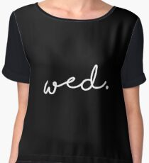 black wednesday wed Chiffon Top
