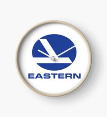 Eastern Airlines Shirt Defunct Airline Tshirt Clock