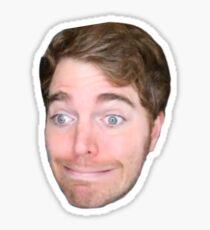 Shane Dawson Cringing Sticker