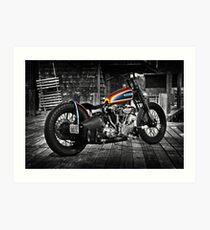 Harley Davidson Knucklehead Art Print