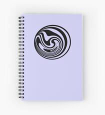 Happy people icon - Spinning circle house DJ Vol. 2 Spiral Notebook