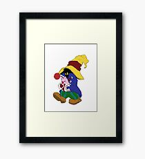 """""""Cuddles"""" with Vivi from FF9 Framed Print"""