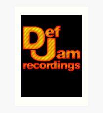 Def Jam Recordings Art Print