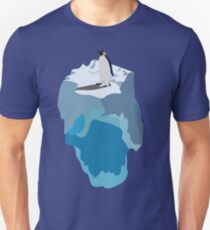 Penguin on an Iceberg Unisex T-Shirt
