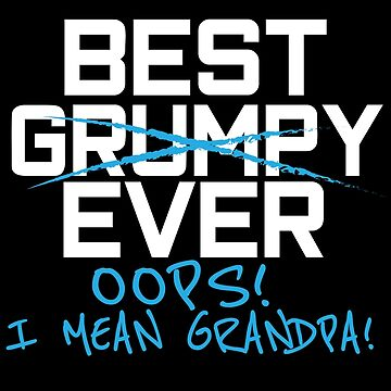 Funny Best Grumpy Grandpa Ever T shirt Fathers Day Gift Men by kh123856